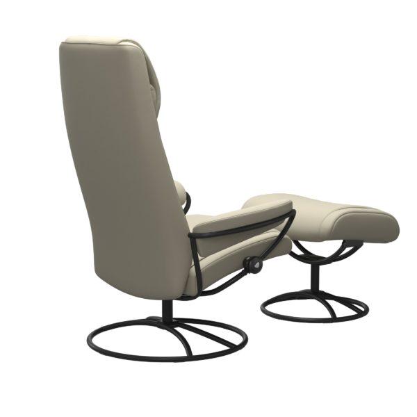 Stressless Paris Original hoog fauteuil met voetenbank Stressless Relaxfauteuil 13383650941545