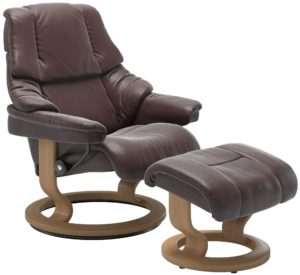 Stressless Reno Classic fauteuil met voetenbank Stressless Relaxfauteuil 11690150916604