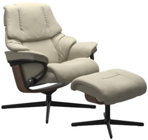 Stressless Reno Cross fauteuil met voetenbank Stressless Relaxfauteuil 1169317094154506