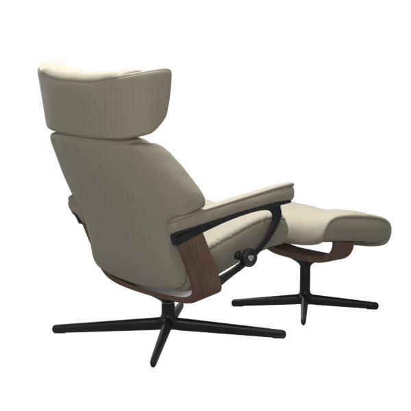 Stressless Skyline Cross fauteuil met voetenbank Stressless Relaxfauteuil 1305317094154506