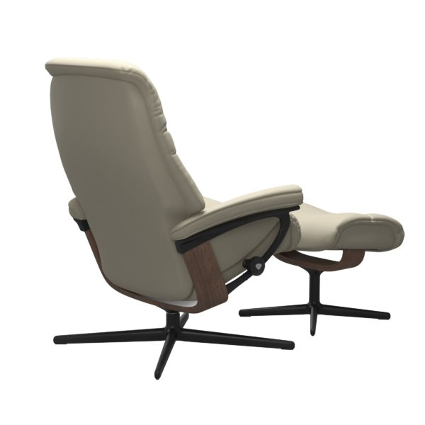 Stressless Sunrise Cross fauteuil met voetenbank Stressless Relaxfauteuil 1237317094154506