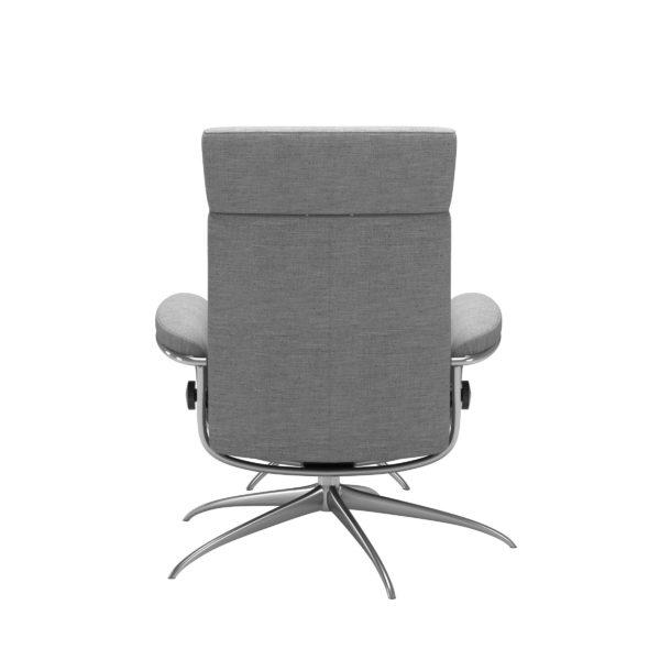 Stressless Tokyo Star met hoofdsteun, fauteuil met voetenbank Stressless Relaxfauteuil 13543455951240
