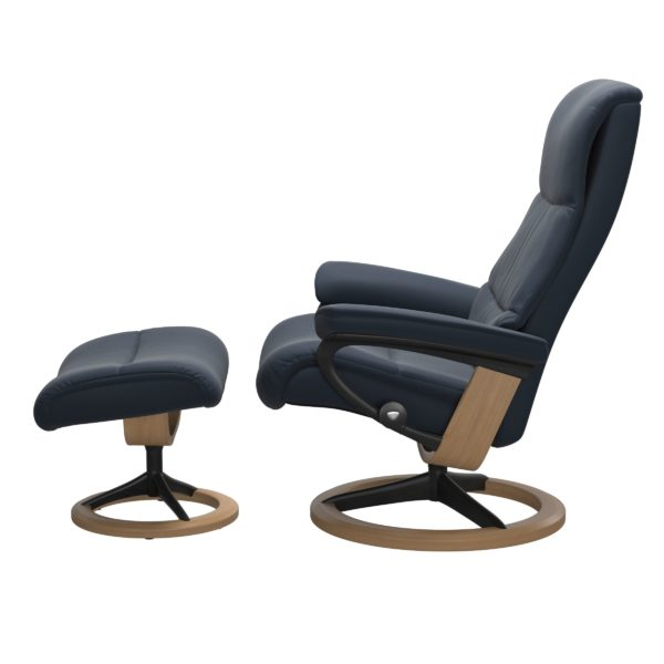 Stressless View Signature fauteuil met voetenbank Stressless Relaxfauteuil 1307315094184504