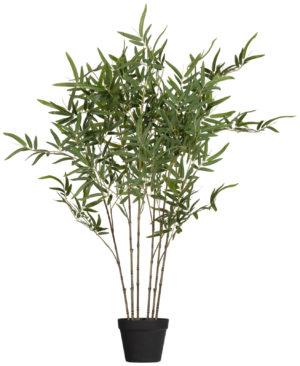 WOOOD Bambusa Kunstplant Groen 100cm Green Woonaccessoire