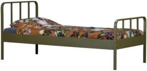 WOOOD Mees Bed Metaal Army 90x200cm Army Ledikant
