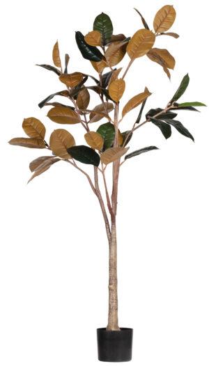 WOOOD Rubber Kunstplant Groen 170cm Green Woonaccessoire