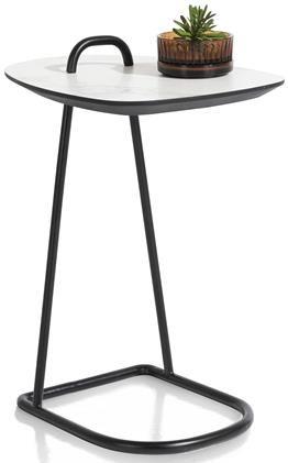 Xooon Masura laptop-tafel 55 x 48 cm - wit  Bijzettafel
