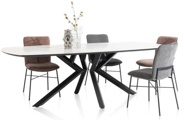 Xooon Masura salontafel hoog 68 x 67,5 cm  Bijzettafel