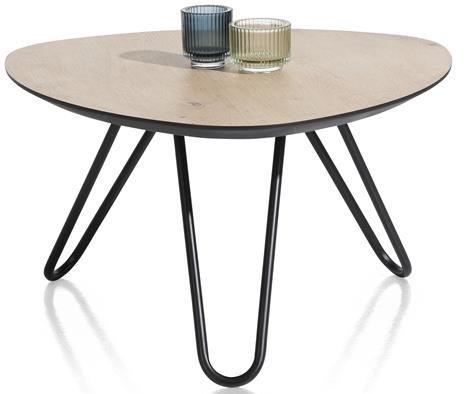 Xooon Masura salontafel hoog 68 x 67,5 cm - eiken  Bijzettafel