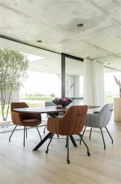 Xooon Masura salontafel laag 110 x 88 cm - eiken  Bijzettafel