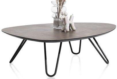 Xooon Masura salontafel laag 110 x 88 cm - roest  Bijzettafel