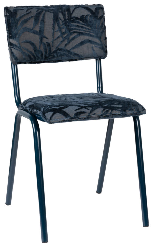 Chair Back To Miami Midnight Blue Zuiver Eetkamerstoel ZVR1100416