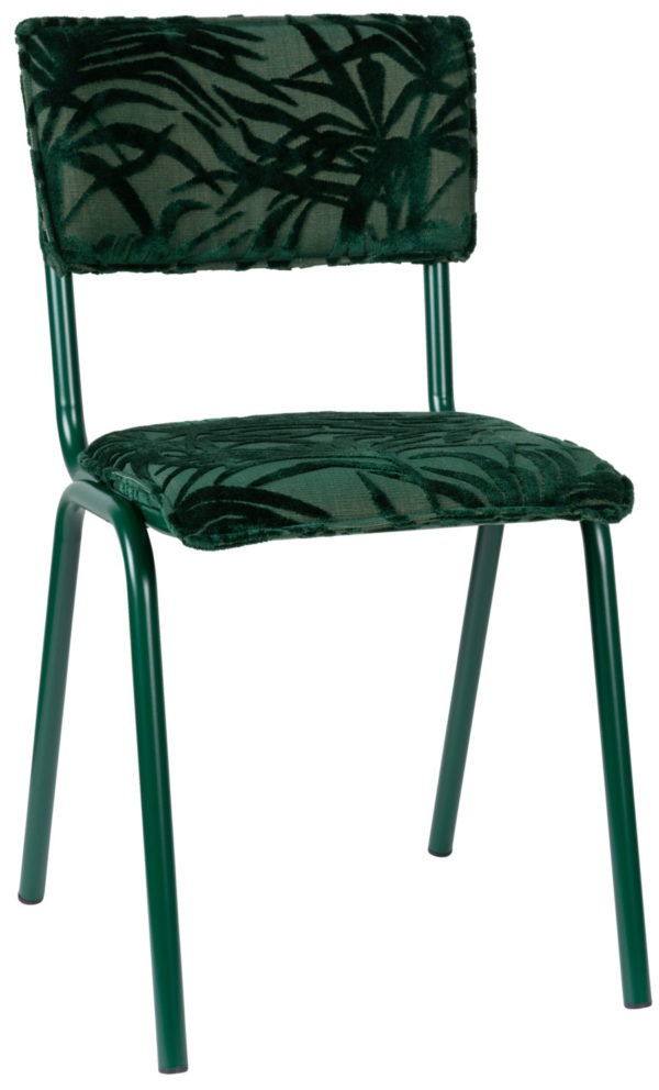 Chair Back To Miami Palm Tree Green Zuiver Eetkamerstoel ZVR1100417