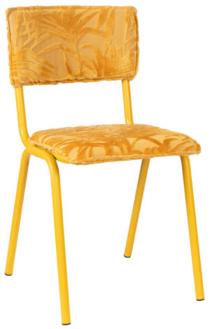 Chair Back To Miami Sunset Yellow Zuiver Eetkamerstoel ZVR1100414