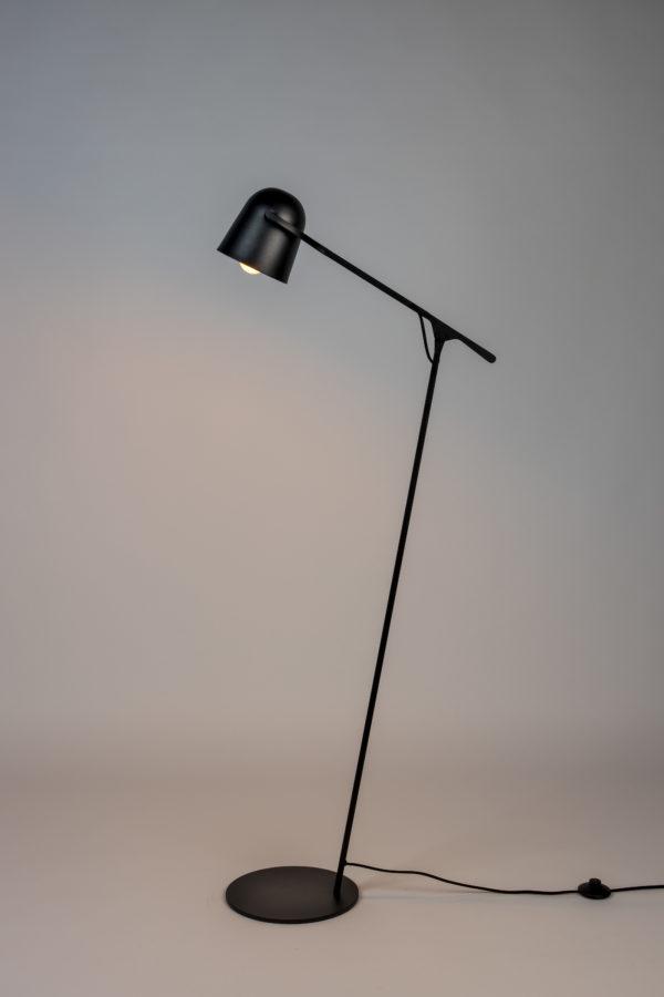 Floor Lamp Lau All Black Zuiver Vloerlamp ZVR5100105