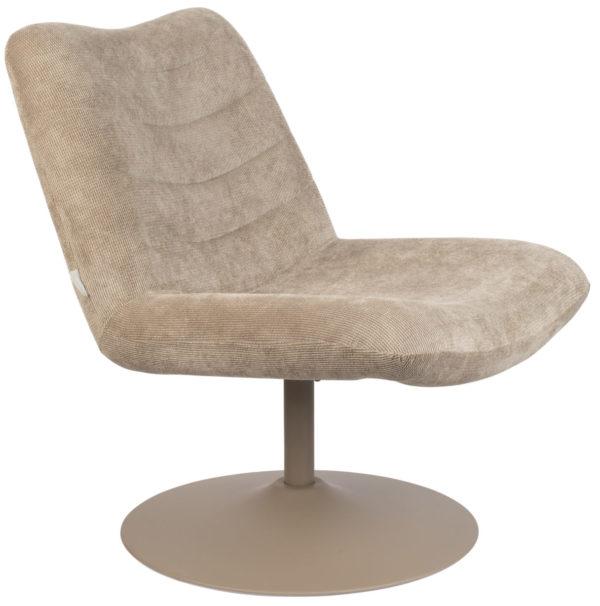 Lounge Chair Bubba Beige Zuiver Eetkamerstoel ZVR3100152