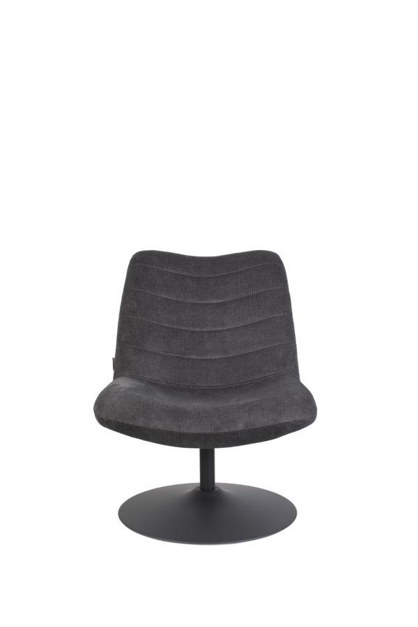 Lounge Chair Bubba Dark Grey Zuiver Eetkamerstoel ZVR3100151
