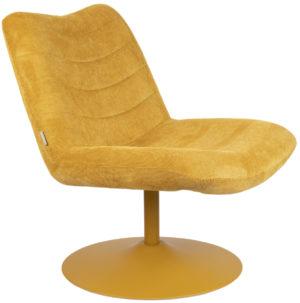 Lounge Chair Bubba Ochre Zuiver Eetkamerstoel ZVR3100150