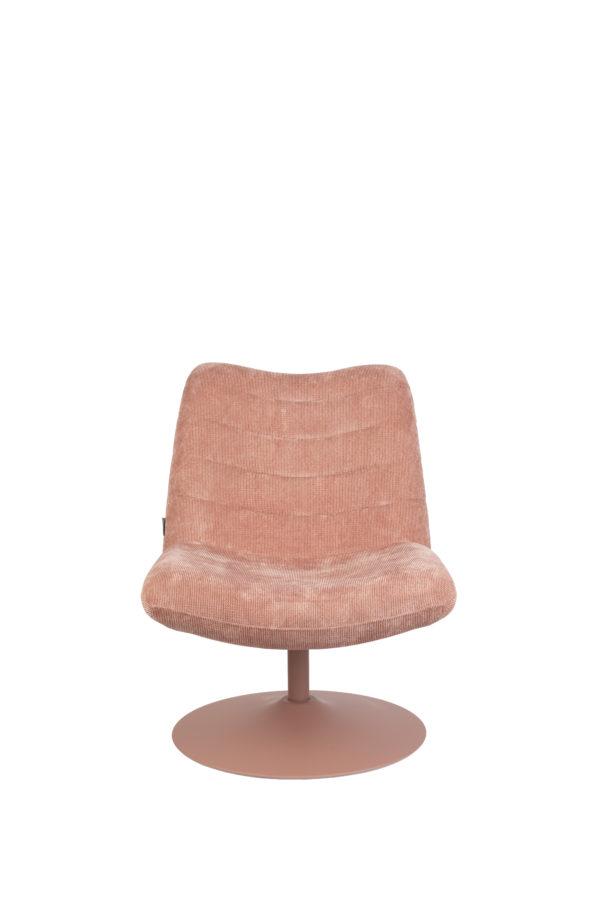 Lounge Chair Bubba Pink Zuiver Eetkamerstoel ZVR3100149