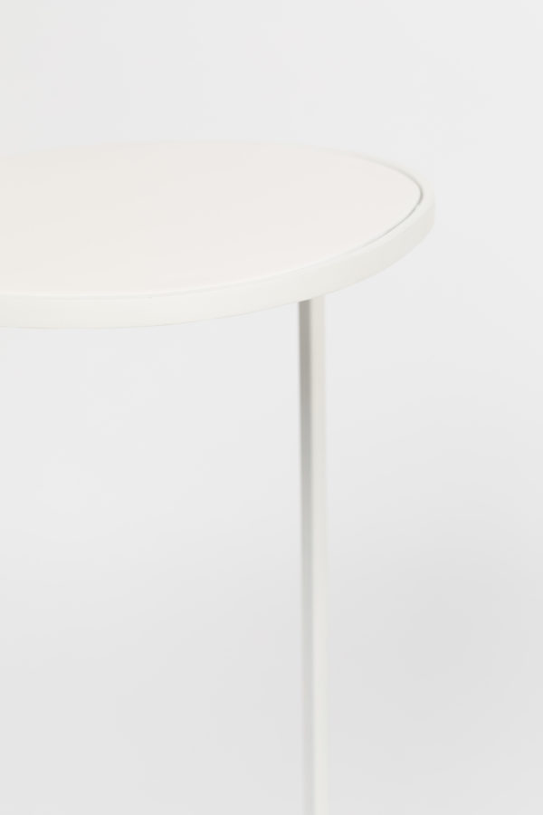 Side Table Moondrop Single White Zuiver Bijzettafel ZVR2300195
