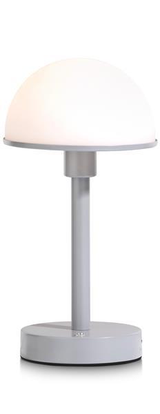 COCO maison Stefano tafellamp outdoor USB - grijs  Lamp