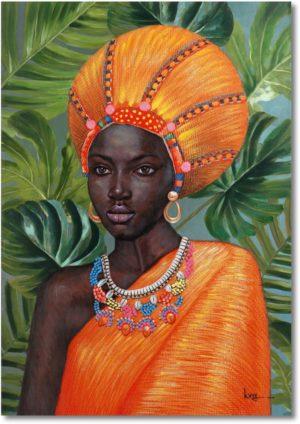 Feelings African beauty wanddecoratie  Wanddecoratie