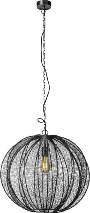 Feelings Floss hanglamp zwart Ø53 Zwart Hanglamp