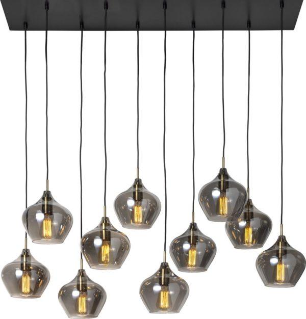 Feelings Rakel hanglamp 10-lichts Antique bronze Hanglamp