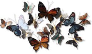 Feelings Vlinders wanddecoratie  Wanddecoratie
