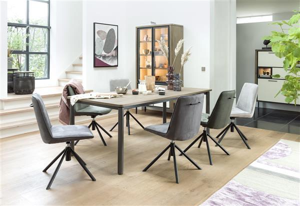 Henders & Hazel Brody eetkamerstoel - Corsica - bruin  Eetkamerstoel