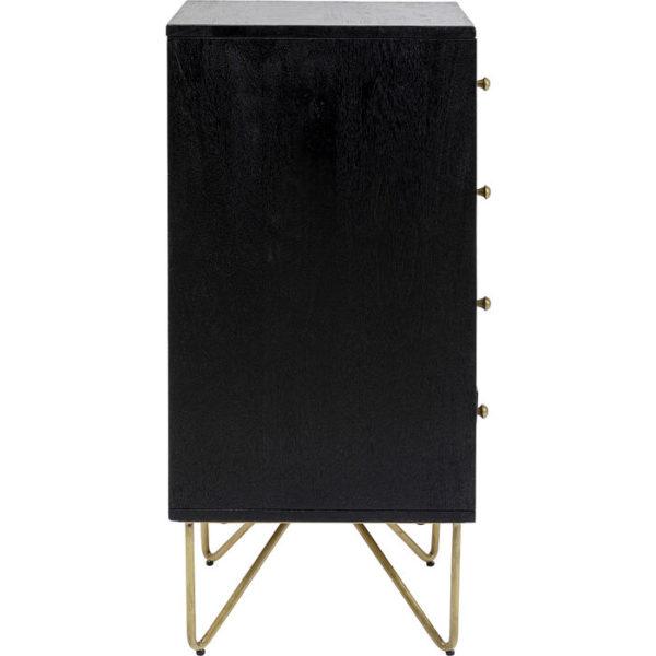 Gold Vein 4 Drawers 40x88cm Kare Design  85849