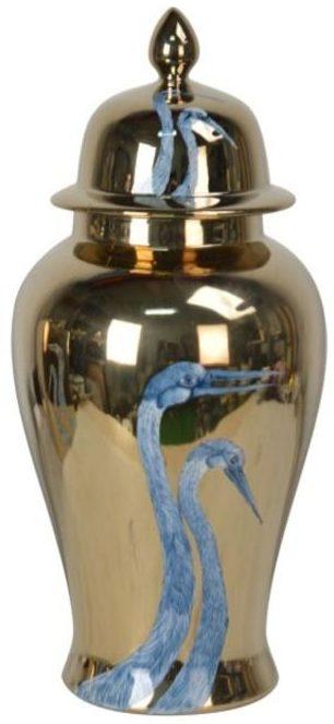 Jar Dancing Cranes 40cm Kare Design  53091