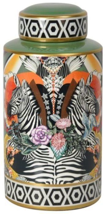 Jar Zebra Duo 30cm Kare Design  53100