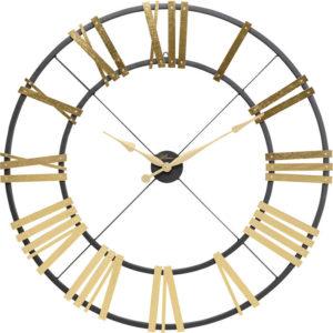 Klok Nevio Brass Ø95cm Kare Design Klok 53514