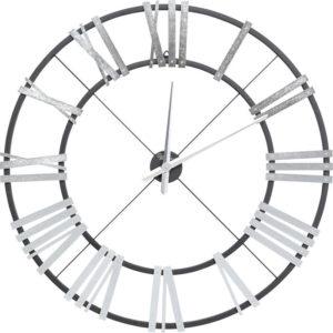 Klok Nevio Silver Ø95cm Kare Design Klok 53515