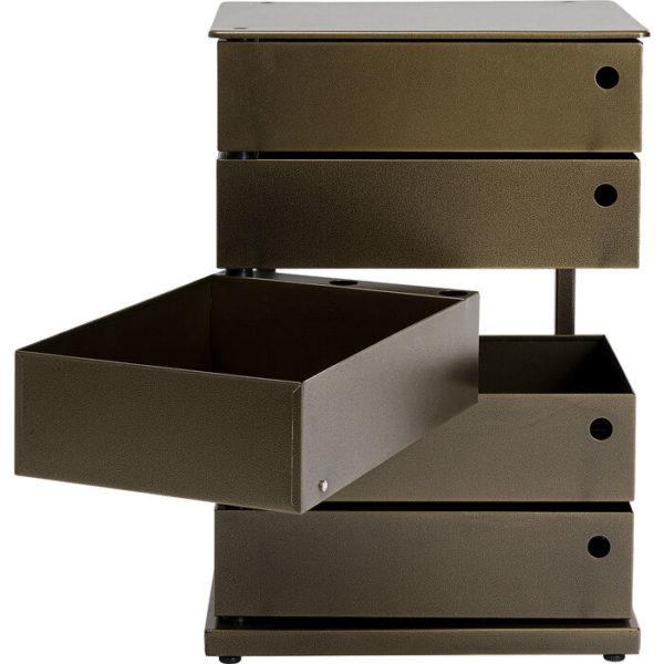 Manifattura 5 Drawers Bronze 50x71,5cm Kare Design  86002