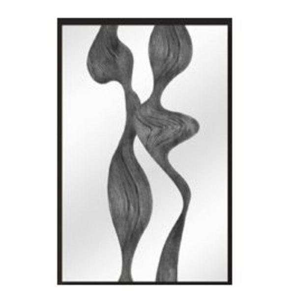 Schilderij Glas Abstract Art Part II 80x120cm Kare Design Schilderij 53607