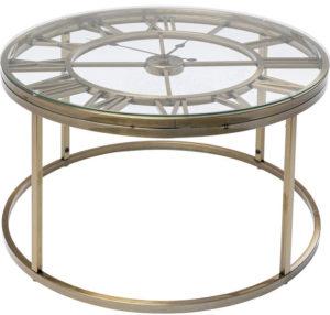 Table Roman Brass Ø76cm Kare Design  86186