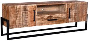 LABEL51 Tv-meubel Bolivia - Rough - Mangohout Rough Tv-meubel|Tv-dressoir