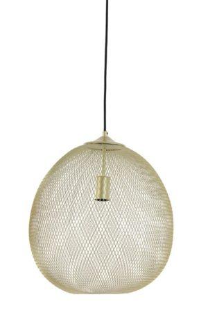 Profijt Meubel Hanglamp goudkleurig Ø40cm  Lamp