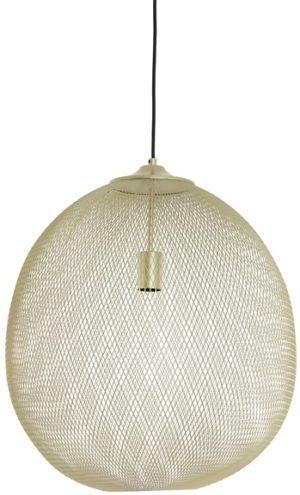 Profijt Meubel Hanglamp goudkleurig Ø50cm  Lamp