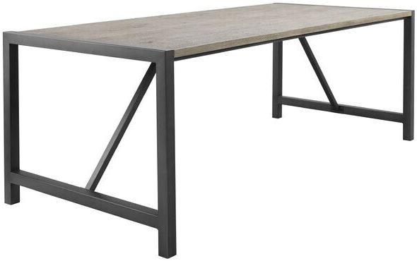 Pronto Wonen Eettafel Morandi 160x90 eiken grey  Eettafel