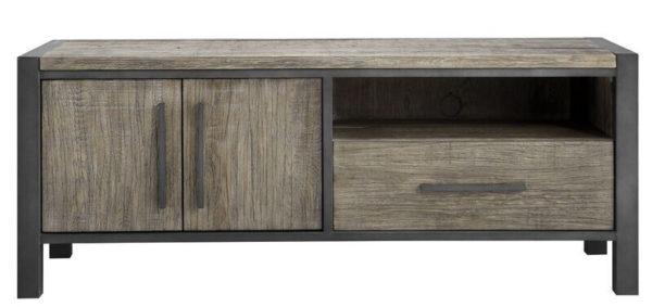 Pronto Wonen TV-meubel Morandi (136 cm) eiken grey  Kast