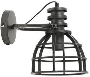 Pronto Wonen Wandlamp Apiro antiek zwart  Lamp