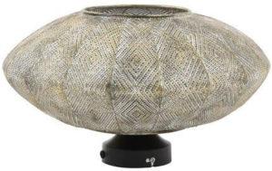 Pronto Wonen Wandlamp Olbia antiek goud-wit  Lamp