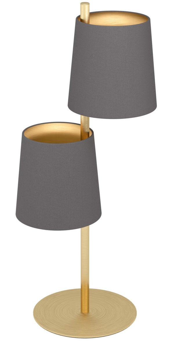 Almeida 2 tafellamp - geelkoper-geborsteld Eglo Tafellamp 99611-EGLO