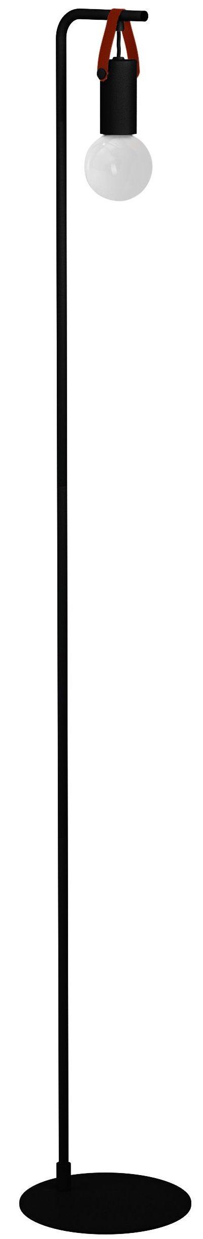 Apricale vloerlamp - zwart - bruin Eglo Vloerlamp 33809-EGLO