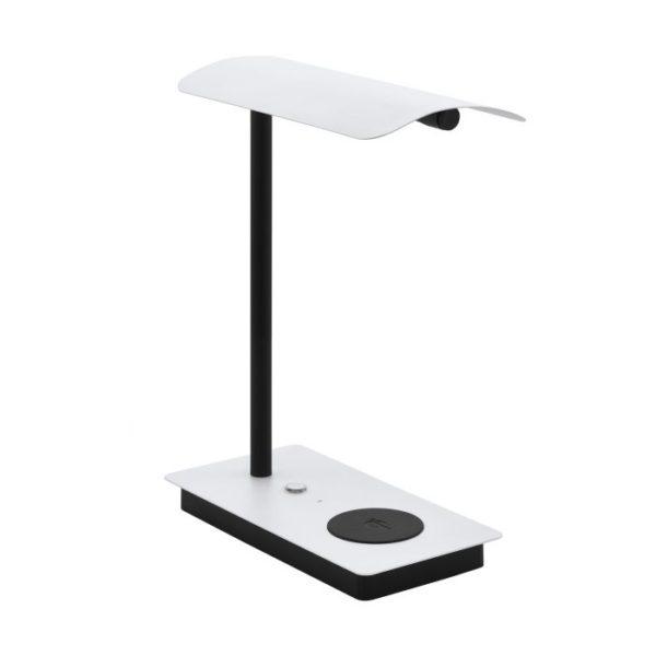 Arenaza tafellamp - wit - zwart Eglo Tafellamp 99828-EGLO