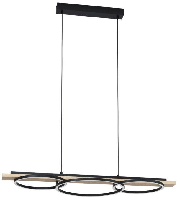 Boyal hanglamp - zwart - bruin Eglo Hanglamp 99625-EGLO