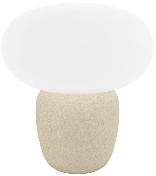 Cahuama tafellamp - lichtbruin Eglo Tafellamp 99824-EGLO